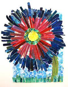 Painting paper collage Artist Allison Bailey Art Teacher Joy Schultz Kindergarten Art Projects, School Art Projects, Art School, Painting Courses, School Painting, Arts And Crafts, Paper Crafts, Collage Artists, Eric Carle
