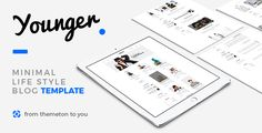 Young Blogger - Simple Clean Blog Template  -  http://themekeeper.com/item/site-templates/young-blogger-simple-blog-template