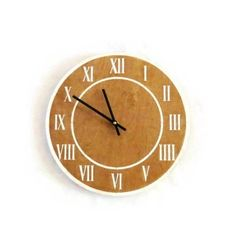 This modern wall clock is ready to ship and on sale!
