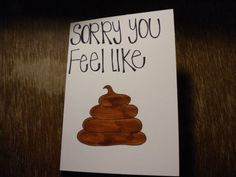 Items similar to Handmade Get Well Soon Card on Etsy