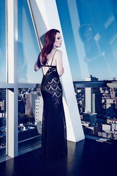 Julianne Moore Seduces for The Edit, Talks Style & Tom Ford