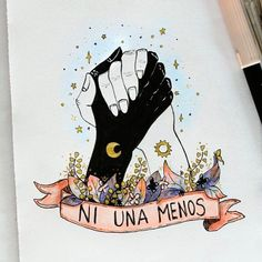 """This but with the black hand a male hand nails on female hand maybe French tip painted no symbols on the wrists and the banner saying """"we're all one"""" Feminist Af, Feminist Quotes, Riot Grrrl, Intersectional Feminism, Zine, Power Girl, Powerful Women, Women Empowerment, Strong Women"""