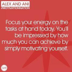 Focus your energy