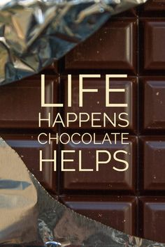 11 delicious chocolate quotes in honor of Chocolate Day. Chocolate Lovers Quotes, Chocolate Humor, Chocolate World, I Love Chocolate, Cocoa Chocolate, Baking Quotes, Food Quotes, Sign Quotes, Funny Quotes