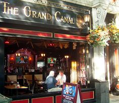 The Grand Canal restaurant in Boston has some of the yummiest meatloaf around. The Irish bartender is pretty yummy, too.