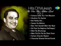 Best Of Mukesh - Top 10 Hits - Indian Playback Singer - Tribute To Mukesh - Old Hindi Songs - Vol 3 - YouTube