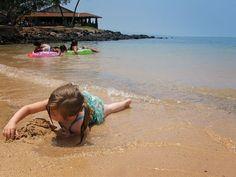 beautiful day in paradise, on the big island of Hawaii. Beach Carefree Childhood…