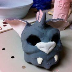 GAHS student made this mogdoc sculpture in art class Ya Novels, Student, Sculpture, Desserts, Food, Art, Tailgate Desserts, Art Background, Deserts