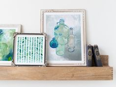 Set the mood in your space with your calming color palette of Minted wall art prints.