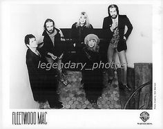 1987 Portrait of Music Group Fleetwood Mac Original News Service Photo