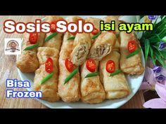 Sosis Solo Isi Ayam, Kulitnya Lembut, Bisa Dibekukan - YouTube Lumpia, November 1st, Snack Box, Baked Potato, Tacos, Frozen, Pastel, Chicken, Baking
