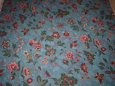 Stoff Blumen - Markus US Georgetown Judie Rothermel Stoff Blumen - ein Designerstück von Bibo-Laedchen bei DaWanda
