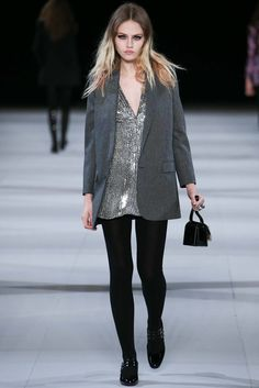 Saint Laurent Fall 2014 Ready-to-Wear Fashion Show - Charlotte Free (IMG)