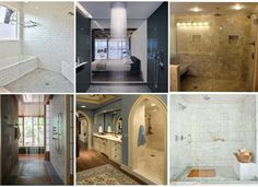 One of the biggest shifts in home design that I have noticed over the past 13+ years in residential real estate is in the master bathroom.  Showers have become distinctly larger, often times replacing the tub altogether. Would you be willing to sacrifice your bathtub for the shower of your dreams?