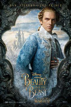 Dan Stevens as the Prince Beauty And The Beast