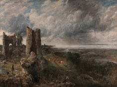 Hadleigh Castle, the Mouth of the Thames - Morning after a Stormy Night - John Constable - The Athenaeum