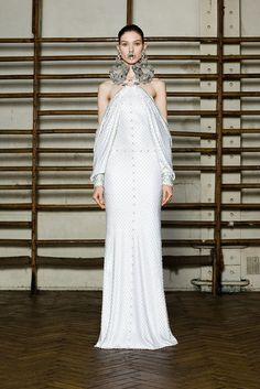I don't even understand the mouth part, but the rest okay. Givenchy Spring 2012 Couture
