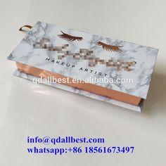 New Design Popular Custom Cosmetics Marble Mink Lashes Packaging Box #minklashes