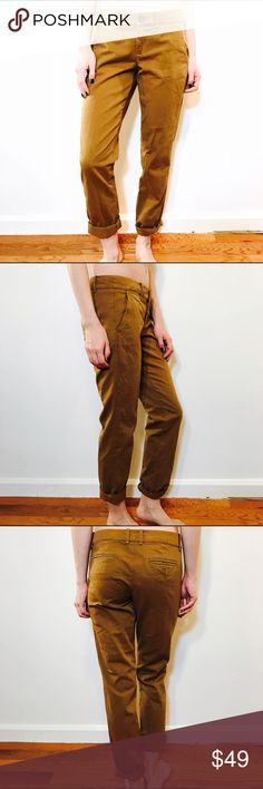 """J. CREW CITY FIT WAVERLY CHINO KHAKI PANTS #937 J.CREW, Size 2, City Fit Waverly Chino, Khaki pant.  CONDITION: NWT, No issues.  CHEST:  WAIST: 31"""" LENGTH: 38"""" INSEAM: 30.5"""" *All measurements taken while item is laid flat (doubled when necessary) and measured across the front  MODEL: 5'8""""  MATERIAL: 100% Cotton  STRETCH: None INSTAGRAM @ORNAMENTALSTONE 🚫Trading J. Crew Pants"""