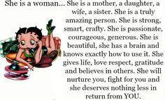 She's a Proverbs kinda woman :)