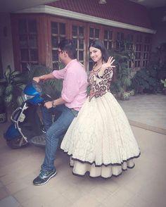Wn ur brother gives u a scooty ride on Rakhi 👫🏍 #vroomvroom #HappyRakshabandhan ❤️