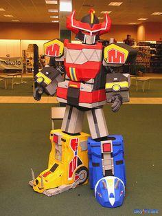 Mighty Morphin' Power Rangers Megazord #powerrangers #megazord #cosplay