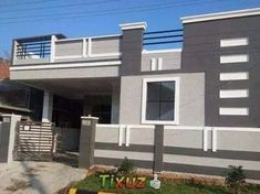 House Porch Design, House Front Wall Design, Single Floor House Design, Home Stairs Design, Village House Design, Main Door Design, Home Building Design, House Design Photos, Small House Design