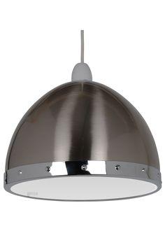 Retro inspired Rupert Pendant Light Shade from PAGAZZI Lighting. Chrome Finish, Shades, Retro, Lighting, Pendant, Silver, Inspiration, Home Decor, Biblical Inspiration