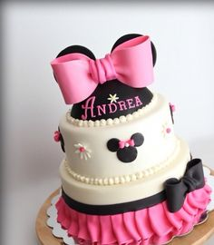 Tortas Minnie y Mickey Mouse