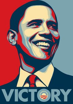 Obama Victory / Shepard Fairey