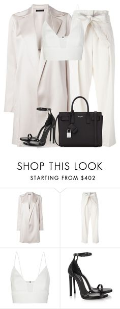 """""""Untitled #2806"""" by elenaday ❤ liked on Polyvore featuring The Row, 3.1 Phillip Lim, Narciso Rodriguez and Yves Saint Laurent"""