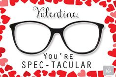 Say Happy Valentine's Day the right way. Visit our website for FREE printable Valentine's! Doctor Love, Eye Doctor, Dr Valentine, Happy Valentines Day, Glasses Quotes, Glasses Sun, Optometry Office, Holiday Images, Advertising Ideas