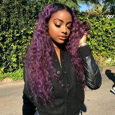 Pretty sure I'm dying my hair purple ♀️
