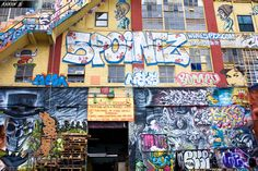 Street Art Sanctuary at Risk for Demolition    5Pointz, an old abandoned factory in Queens, is one of New York City's greatest and most interesting attractions.  Graffiti artist have been tagging (painting graffiti) this building legally for the last 20 years, the entire thing is covered in beautiful works of art.  Sadly, this building is scheduled for demolition in 2013 and is to replaced by a luxury high-rise apartment complex.