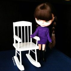 Carleesi - knitted sweater for Blythe doll
