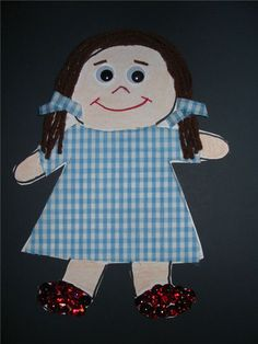 4 Kindergarten Crafts for the Wizard of Oz: Create Dorothy, Scarecrow, Tin Man & Cowardly Lion in Your Classroom