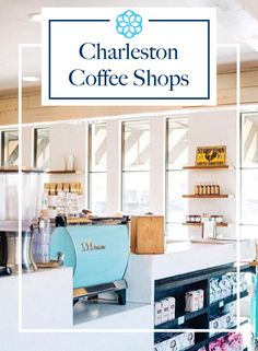 Love this guide to the best local coffee shops in Charleston, SC! Best Coffee Shop, Coffee Shops, Coffee Machines For Sale, Quick Weekend Getaways, Short Vacation, Good Things, Carolina Girls, South Carolina, Charleston Sc