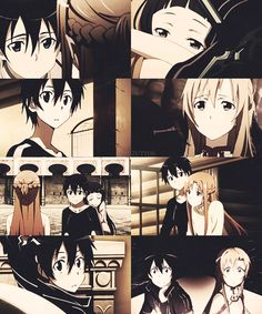 Asuna, Kirito, and Yui <3
