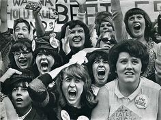 Beatlemaniacs on the loose, 1964.
