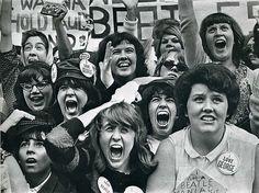 Beatlemaniacs on the loose, 1964.