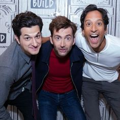 David, Danny Pudi and Ben Schwartz
