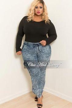 765a94843cf Final Sale Plus Size 2-Piece Blazer Set w  Shorts in Stretched Denim Fabric
