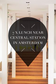 """Looking for a lunchspot near Amsterdam's central station? There's a list with tips on travel blog http://www.yourlittleblackbook.me with the best restaurants, cafes & bars. Planning a trip to Amsterdam? Check http://www.yourlittleblackbook.me/ & download """"The Amsterdam City Guide app"""" for Android & iOs with over 550 hotspots: https://itunes.apple.com/us/app/amsterdam-cityguide-yourlbb/id1066913884?mt=8 or https://play.google.com/store/apps/details?id=com.app.r3914JB"""