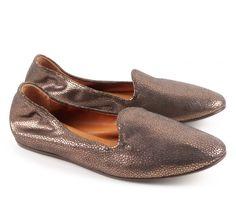 Lanvin silver leather ballerinas (FW-CSPSL1-PAGA-A14) - Bledoncy