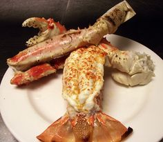 Lobster tail and jumbo Crab Legs