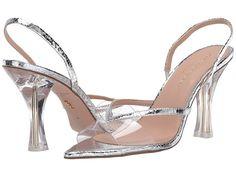 Kurt Geiger London Pamila Women's Shoes Silver Perrie Edwards Style, Silver Shoes, Kurt Geiger, Retro Chic, The Vamps, Slingback Sandal, Women's Shoes, Footwear, London