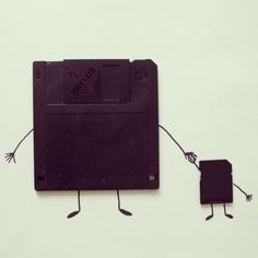 Fun Illustrations Made From Everyday Objects and Clever Line Drawings - What an ART