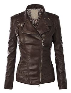 LL Womens Faux Leather Zip Up Rider Jacket with Stitching Detail L COFFEE Lock and Love http://www.amazon.com/dp/B010VWUTF2/ref=cm_sw_r_pi_dp_oNy.vb0EH1KFS