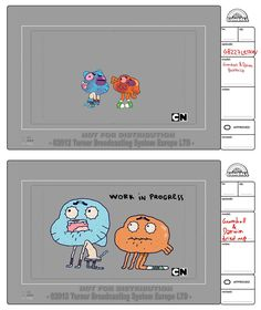 Concept art amazing world gumball of