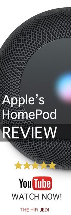 Apple HomePod Hands-On Test & Review - We go hands-on with the brand new Apple HomePod and cover all the details you need to know.  See how it stacks up against Amazon's Echo and Google's wireless smart speakers.  See the full review now! Best Wireless Speakers, Bang And Olufsen, Sonos, Best Gifts For Men, Apple, Gift Guide, Youtube, Goodies, Gift Ideas